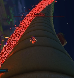 Sonic dodging phantom rubies First battle Infinite sonic forces Nintendo Switch Xbox One PS4 Sega