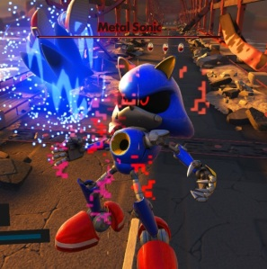 Sonic vs Metal Sonic Sonic forces Nintendo Switch Xbox One PS4 Sega