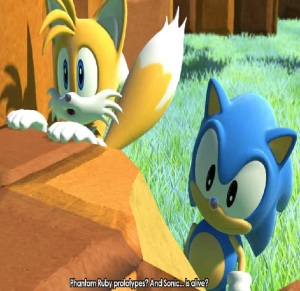 Tails and classic Sonic Eggman egg dragoon sonic forces Nintendo Switch Xbox One PS4 Sega