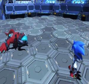 Sonic defeats Zavok sonic forces Nintendo Switch Xbox One PS4 Sega