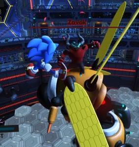 Giant hornet robot Zavok sonic forces Nintendo Switch Xbox One PS4 Sega