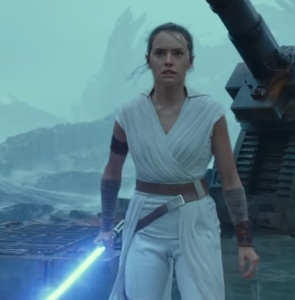 Rey Palpatine vs kylo ren Star Wars The Rise of Skywalker daisy Ridley
