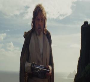Exiled Jedi master Luke Skywalker Star Wars The Last Jedi