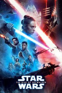 Star Wars The Rise of Skywalker movie poster jj abrams