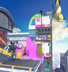 Lucina vs pichu Moray Towers stage super Smash Bros ultimate Nintendo Switch splatoon