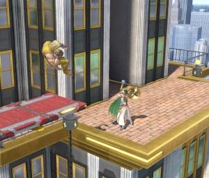 Ken vs palutena New Donk City Hall Stage super Smash Bros ultimate Nintendo Switch