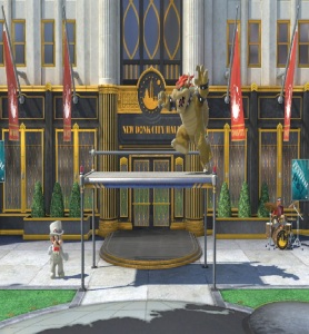 New Donk City Hall Stage super Smash Bros ultimate Nintendo Switch