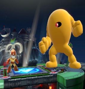 Yellow Devil Wily Castle Super Smash Bros ultimate Nintendo Switch Megaman Capcom
