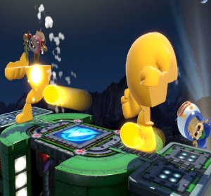 Ludwig Von Koopa vs meta knight Wily Castle Super Smash Bros ultimate Nintendo Switch Megaman Capcom