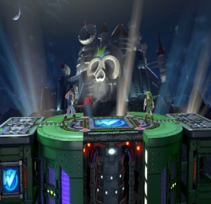 Wily Castle Super Smash Bros ultimate Nintendo Switch Megaman Capcom