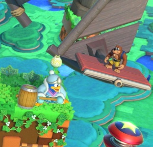 King dedede vs Banjo and Kazooie Windy Hill Zone Stage super Smash Bros ultimate Nintendo Switch sonic the Hedgehog Sega