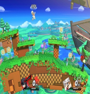 Windy Hill Zone Stage super Smash Bros ultimate Nintendo Switch sonic the Hedgehog Sega