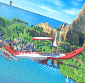 Wuhu Island Stage super Smash Bros ultimate Nintendo Switch
