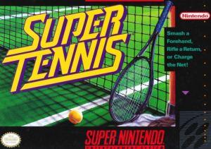 Super Tennis SNES super Nintendo Boxart