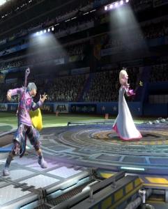 Shulk vs rosalina and luma King of Fighters Stadium super Smash Bros ultimate Nintendo Switch