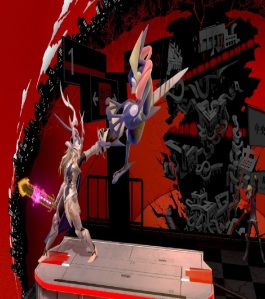 Corrin vs greninja Mementos stage super Smash Bros ultimate Nintendo Switch