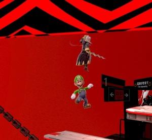 Robin vs Luigi Mementos stage super Smash Bros ultimate Nintendo Switch