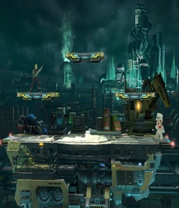 Midgar Stage super Smash Bros ultimate Nintendo Switch SquareEnix