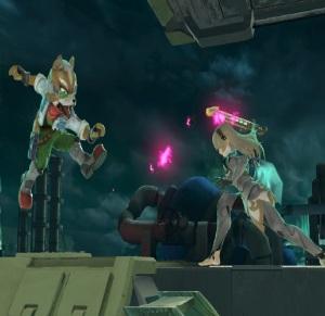 Fox vs corrin Midgar Stage super Smash Bros ultimate Nintendo Switch SquareEnix