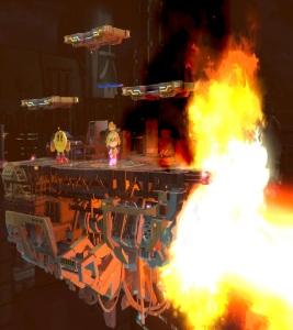 Pac-Man vs Isabelle Midgar Stage super Smash Bros ultimate Nintendo Switch SquareEnix