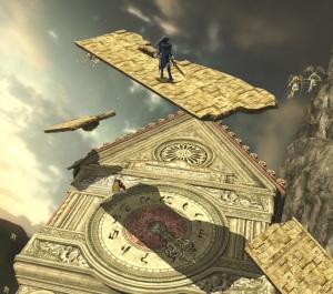 Lucina Umbra Clock Tower Stage super Smash Bros ultimate Nintendo Switch Bayonetta