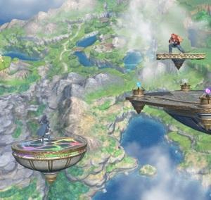 Lucina vs terry Yggdrasil's Altar super Smash Bros ultimate Nintendo Switch