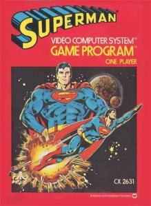Superman Atari 2600 boxart