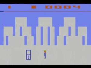 Phone booth Clark Kent superman Atari 2600