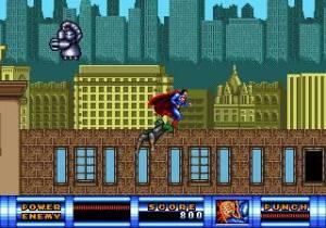 Superman game Sega Genesis