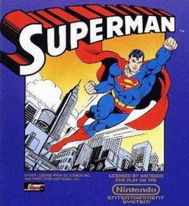 Superman NES Boxart