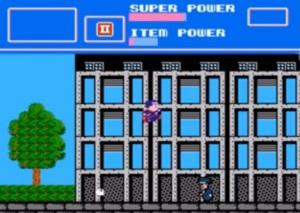 Man of steel VS thug superman NES