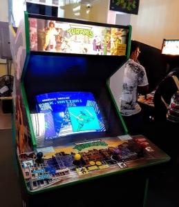 Teenage Mutant Ninja Turtles Konami arcade cabinet machine