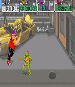 Donatello bo staff Teenage Mutant Ninja Turtles Konami arcade game