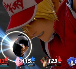 Fatal fury final Smash Terry Bogard super Smash Bros ultimate Nintendo Switch SNK
