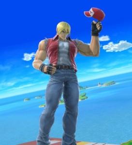 Terry Bogard super Smash Bros ultimate Nintendo Switch SNK