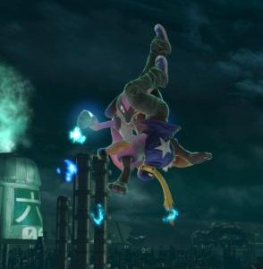 Lucario vs Terry Bogard super Smash Bros ultimate Nintendo Switch SNK