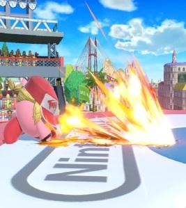 Kirby as Terry Bogard super Smash Bros ultimate Nintendo Switch SNK