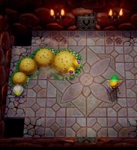 Moldorm boss battle the Legend of Zelda Link's Awakening Nintendo Switch