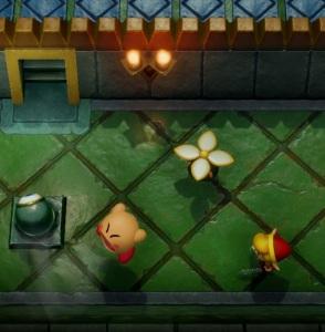 Kirby cameo The Legend of Zelda Link's Awakening Nintendo Switch