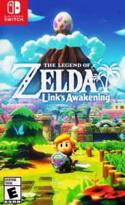 The Legend of Zelda Link's Awakening Nintendo Switch boxart North America usa