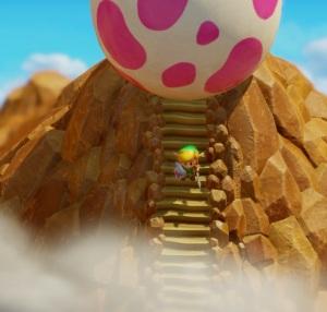 The Legend of Zelda Link's Awakening giant windfish egg Nintendo Switch