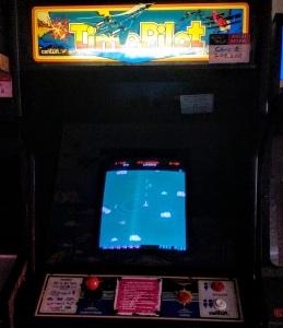 Time pilot arcade cabinet