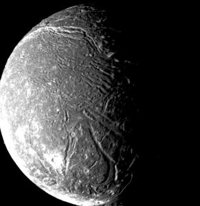 Titania Moon uranus