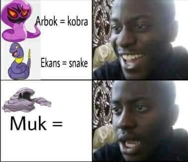 Memes awkward Pokémon names