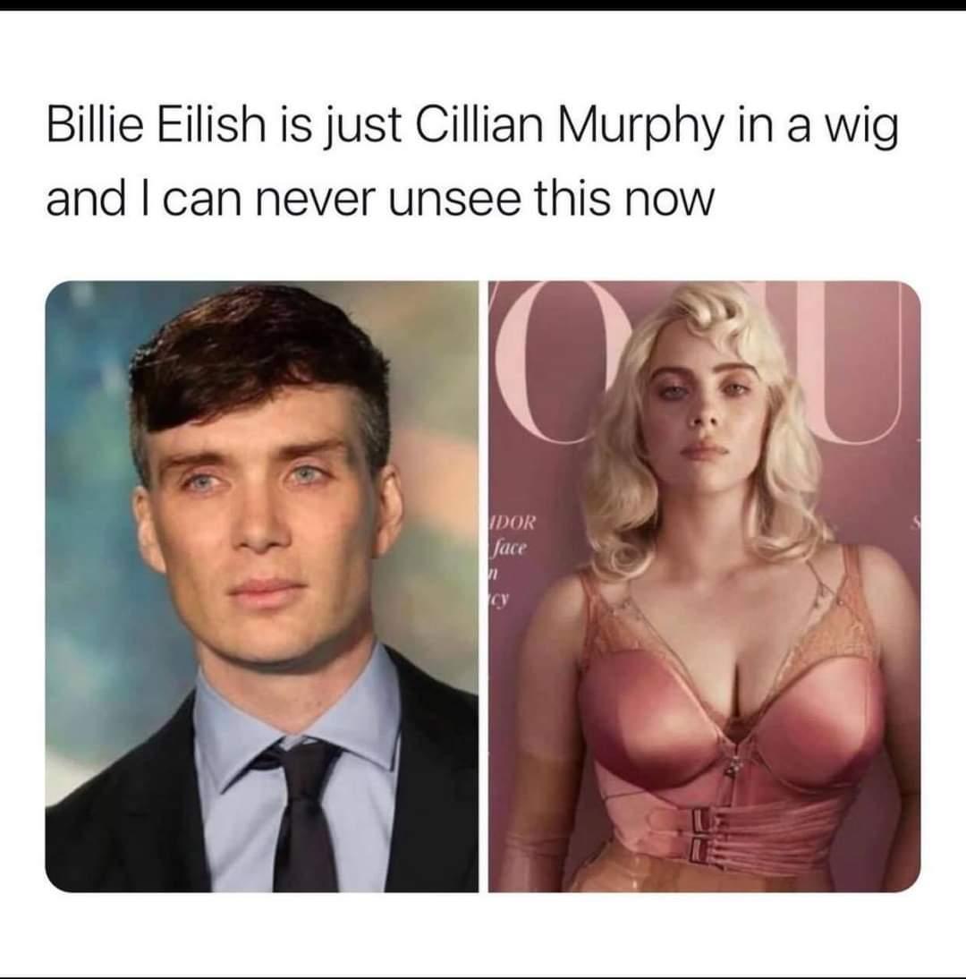 Memes cillian Murphy Billie Eilish