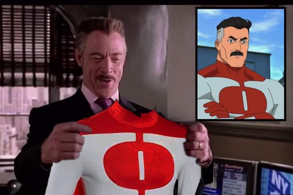 Memes J Jonah Jameson superhero spider Man