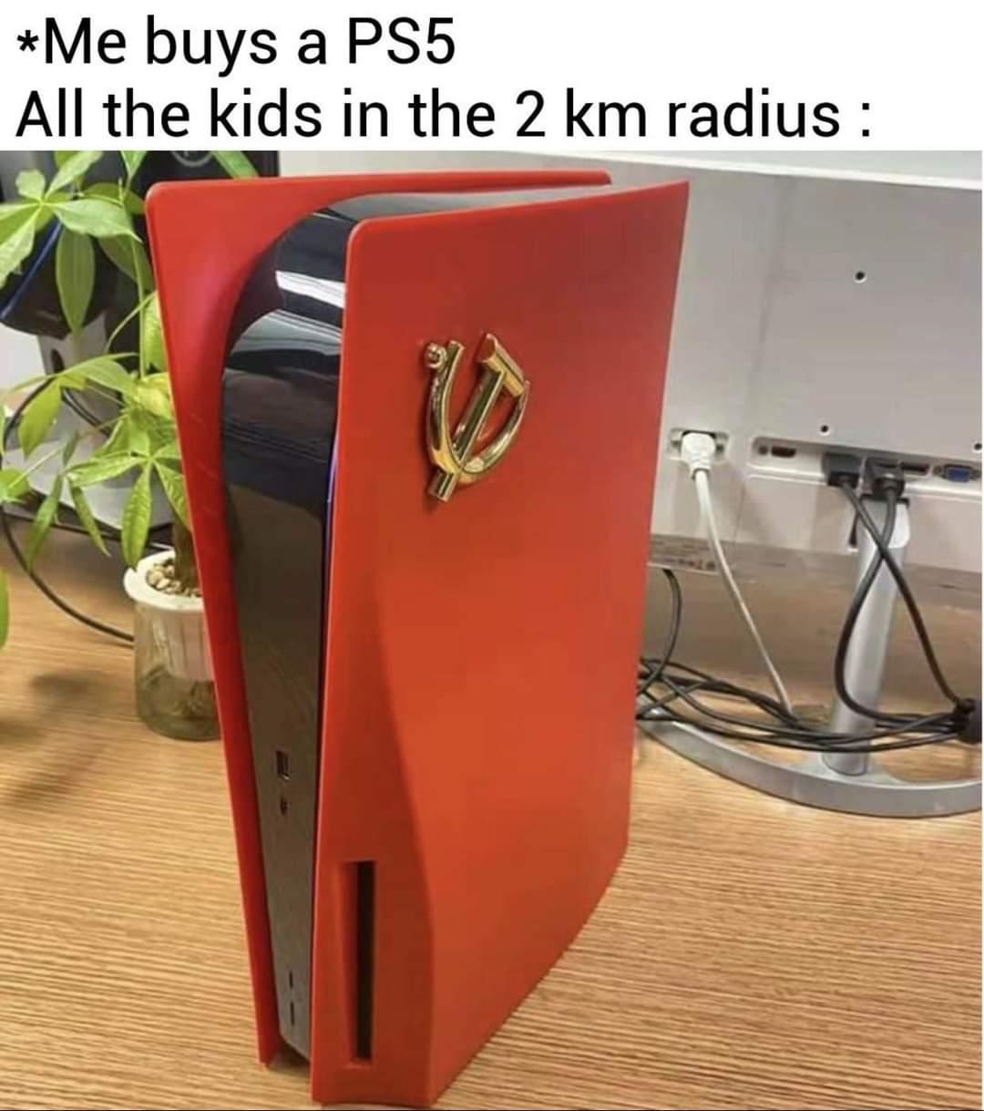 Memes soviet union play station five