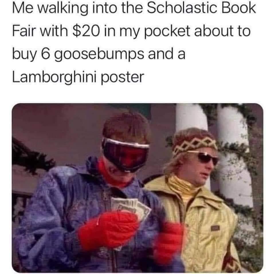 Memes scholastic book fair