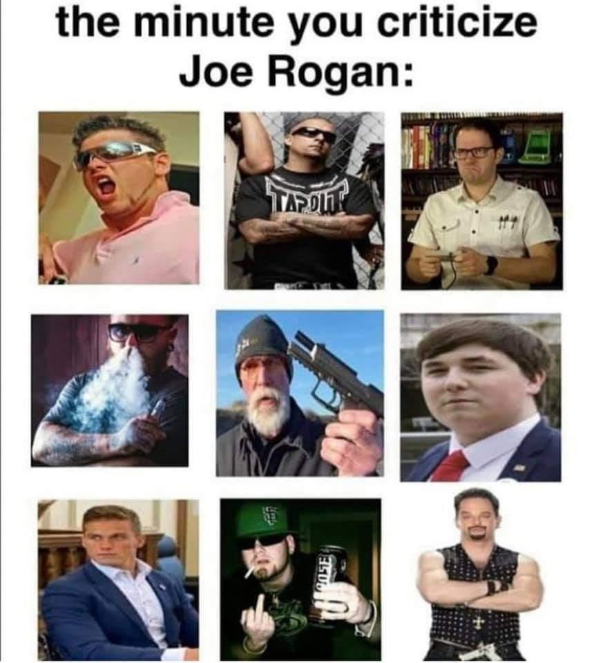 Memes Joe Rogan fan base