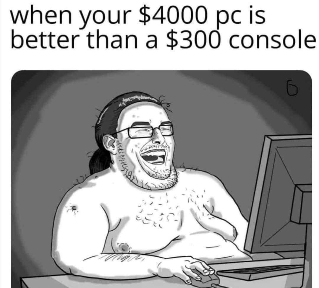 Memes PC versus console